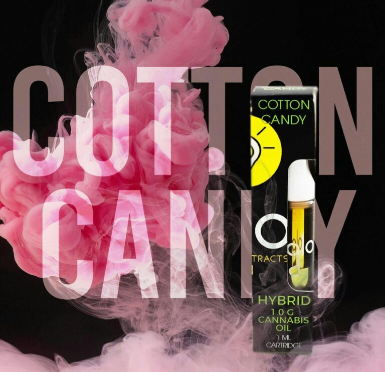 New Cotton Candy Flavor from Glo Extracts